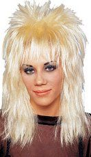 Long Unisex Rocker Wig - More Colors - Candy Apple Costumes - Women's 80s Costumes