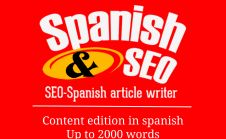 edit content in spanish Up to 2000 words