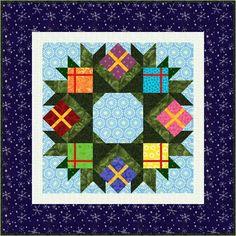 Wreath Mini-Quilt - Paper Pieced