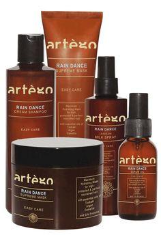Todos los productos de la nueva gama Rain Dance de #Artego. Hidratación para el #cabello #hair