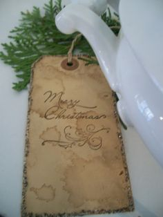 The Apothecary Shop:  Christmas Tag