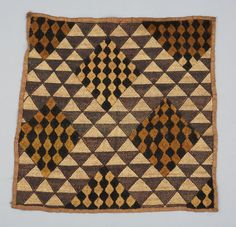 Pieced barkcloth. 1930s/40s. Collection Detail | Textile Museum of Canada Collection and Exhibitions
