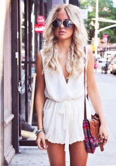 White playsuit :)