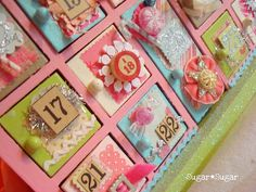 20 Advent calendar ideas - have a merry countdown to Christmas day Make An Advent Calendar, Christmas Calendar, Christmas Countdown, All Things Christmas, Christmas Holidays, Christmas Decorations, Xmas, Christmas Ideas, Merry Christmas