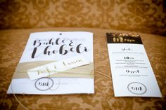 Beautiful Gold and Black inspired wedding invitations. Our incredible suppliers: Hair and Makeup - Style Productions Flowers and Decor - Casablanca Manor www.casablancamanor.co.za Cake and Desserts - L's Creations Stationary - The Little Blue Owl Photographer - The Girl With The Camera Video - Heinz Boesenberg Films Dress - Lubellos Bridal