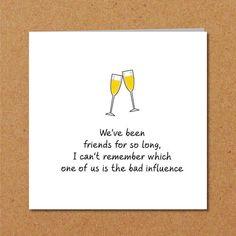BEST FRIENDS friendship birthday card for Male Girl Friend. friends BEST FRIENDS friendship birthday card for female girl friend - Funny, humorous, amusing and fun. Best Friend Birthday Cards, Friend Birthday Quotes, Birthday Card Sayings, Girl Birthday Cards, Birthday Wishes Quotes, Best Birthday Wishes, Birthday Messages, Best Friend Cards, 22nd Birthday