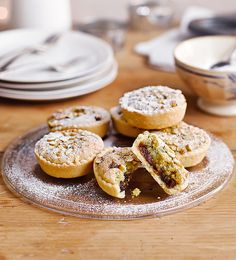 Richard Bertinet's step-by-step guide has an impressive end result. These mince pies, with a pistachio frangipane topping, will quickly become a family Christmas favourite.
