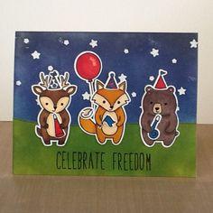 Lawn Fawn Celebrate Freedom