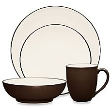 image of Noritake® Colorwave Coupe Dinnerware Collection in Chocolate