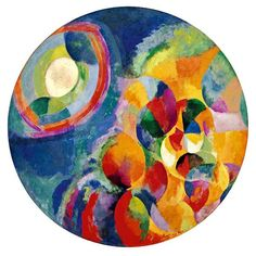 """""""Simultaneous Contrasts: Sun and Moon"""", Robert Delaunay"""