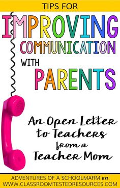 Parent involvement in the classroom directly impacts student achievement. Use these tips from a teacher mom to improve parent communication and maximize the positive impact it has on your students!