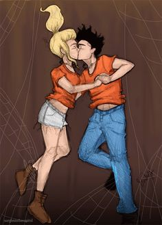 Annabeth Chase and Percy Jackson this just ruined my life a smiggin Percy Jackson Couples, Percy Jackson Annabeth Chase, Percy And Annabeth, Olympus Series, Team Leo, Rick Riordan Books, Percabeth, Heroes Of Olympus, Olympians