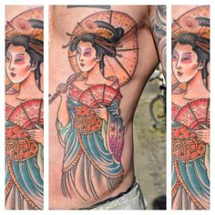 120 Classic Geisha Tattoo Designs And Meanings awesome  Check more at http://fabulousdesign.net/geisha-tattoos-meanings/