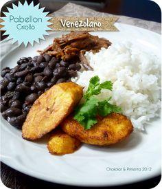 Chokolat Pimienta Blog de Cocina : Pabellon Criollo Venezolano