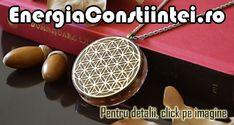 """""""Pandantiv Orgonic Orgon Magnetic Floarea Vieții Placată cu Aur de 18k sau argint 925 cu Cristale de Cuarț Ametist – cod ORG006 Material: Rășină Elemente conținute: Floarea Vieții, Spirală Cupru, Magnet din Neodim, Cristale Cuart Ametist Valoare magnetică gauss: 5000 Emisie ionică: Aprox. 300 Ioni Negativi Culoare: Auriu, Argintiu Greutate: 38g Înălțime: 55mm Lățime: 45mm"""""""