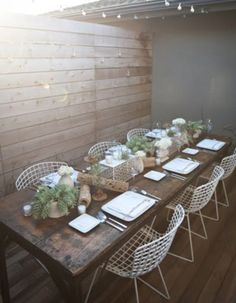 Outdoor Entertaining Inspo
