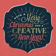Te deseamos una feliz navidad!! y un #creativo año 2015
