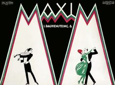 vintage poster | Hans Neumann,  Maxim, c. 1925