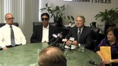 #Bakersfield law firm Chain | Cohn | Stiles holds a news conference with the family of David Silva.