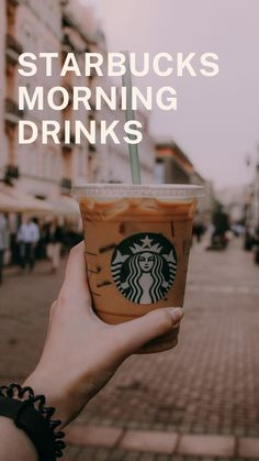 I got tired of drinking the same coffee with cream and sugar every morning, so I decided to experiment with a few other options on the menu and put together this complete list of all the best Starbucks morning drinks! Starbucks is the world's most famous coffee brand. You can order to experience your desired and unique flavors without being guilty. #starbucks Coffee Cream, Coffee Type, Black Coffee, Starbucks Drinks, Coffee Drinks, London Fog Tea Latte, Cinnamon Dolce Latte, Types Of Coffee Beans