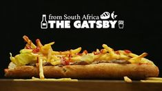 South Africa is a melting pot of cultures and foods. The giant Gatsby sandwich, perfect for sharing, is no exception to this rule. Bento Recipes, Sandwich Recipes, New Recipes, Gatsby, Steak And Chips, Party Food Platters, Food Test, Wrap Sandwiches, South Africa