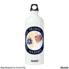Pope Francis I Water Bottle