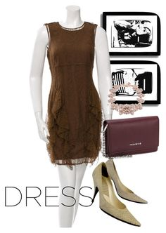 """dress"" by masayuki4499 ❤ liked on Polyvore featuring Burberry, Christian Dior and Givenchy"