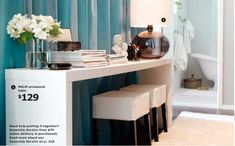Best ikea malm table ideas images desk homes bedrooms