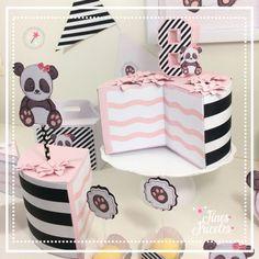 Bolo Panda +de 50 Ideias Super Fofas e Divertidas #BoloPanda #Bolo #Panda #PandaCake Bolo Panda, Cake, Gift Wrapping, Gifts, Cake Ideas, Diy Home, Decorating Cakes, Hilarious, Gift Wrapping Paper