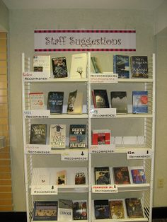 Staff Suggestions Display
