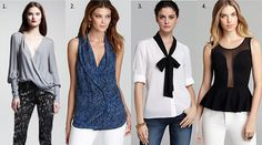 Tops for Rectangle-shaped women
