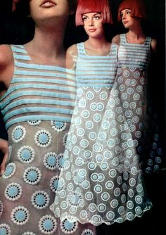 Courrèges 1969. See through dress