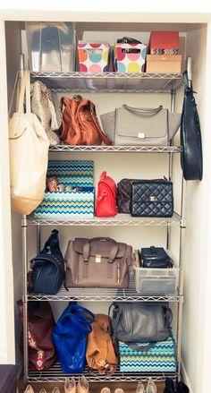 Bag closet.