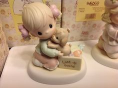1999 Precious Moments  You Just Can t Replace A Good Friendship  NIB 1st Mark