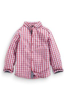 Buy Multicoloured Gingham Shirt (3mths-6yrs) online today at Next: United States of America $18