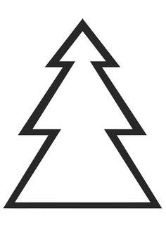 malvorlage tannenbaum einfach kostenlos | malvorlage