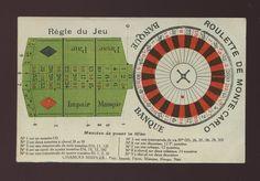 France Monte-Carlo Gambling Roulette card lay out payments etc c1900/10s? card Monte Carlo, Roulette Game, France, Vintage Prints, Find Art, Framed Artwork, Dots, Ebay, Art Prints
