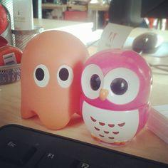 Desk Wear #owl #ghost
