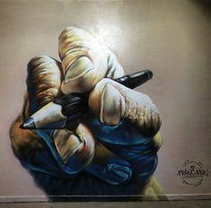 Messico: nuovo muro dello street artist Franc Mun.