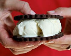 Recipe for Healthy Gluten-Free Diet: Gluten-Free Ice Cream Sandwiches