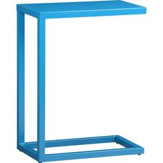 Aqua C Table in Side, Coffee Tables   Crate and Barrel