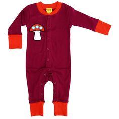 På Stens önskelista - Duns Sweden Mushroom Romper Suit for Babies #mushroom #onesie