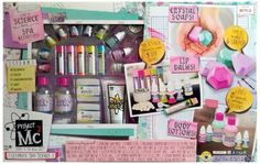 Project Mc2 Ultimate Spa Science Kit For Making Your Own: Lip Balm, Crystal and
