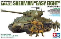 Tamiya Scale Limited Series The United States Army Tank Sherman Easy