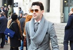 Tommy Ton at Milan Fashion Week Fall 2012- Men's Street Style: Style: GQ