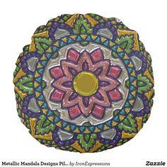 #Metallic #Mandala #Designs #Pillows #home #homedecor #gift #fashion #style #art