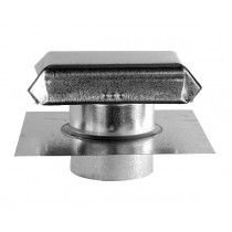 J Vent with Extension - Galvanized Metal Roof Vents, Gable Vents, Chimney Cap, Creativity