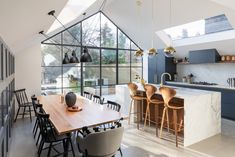 Rear Extension Design - Kitchen and Dining Modern Industrial, Modern Rustic, Rustic Kitchen, Kitchen Dining, Extension Designs, Rear Extension, Design Kitchen, Innovation, Gardens