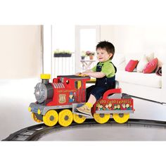 Kid's Ride On Choo Choo Express with Track — All Aboard!