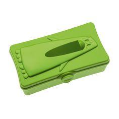 Amazon.com - Koziol Ping Pong Standing or Wall-mounted Tisuue Box Green -